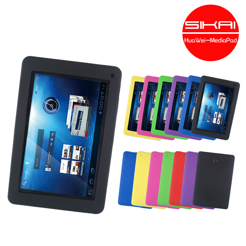 SiKai MediaPad Top Sensation Protector cover Silicone for Huawai Media Pad case