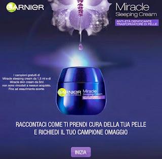 Garnier Miracle Sleeping Cream e Skin Cream