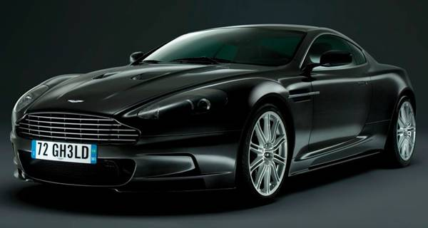"Aston Martin DBS - James Bond ""Quantum Of Salace"""