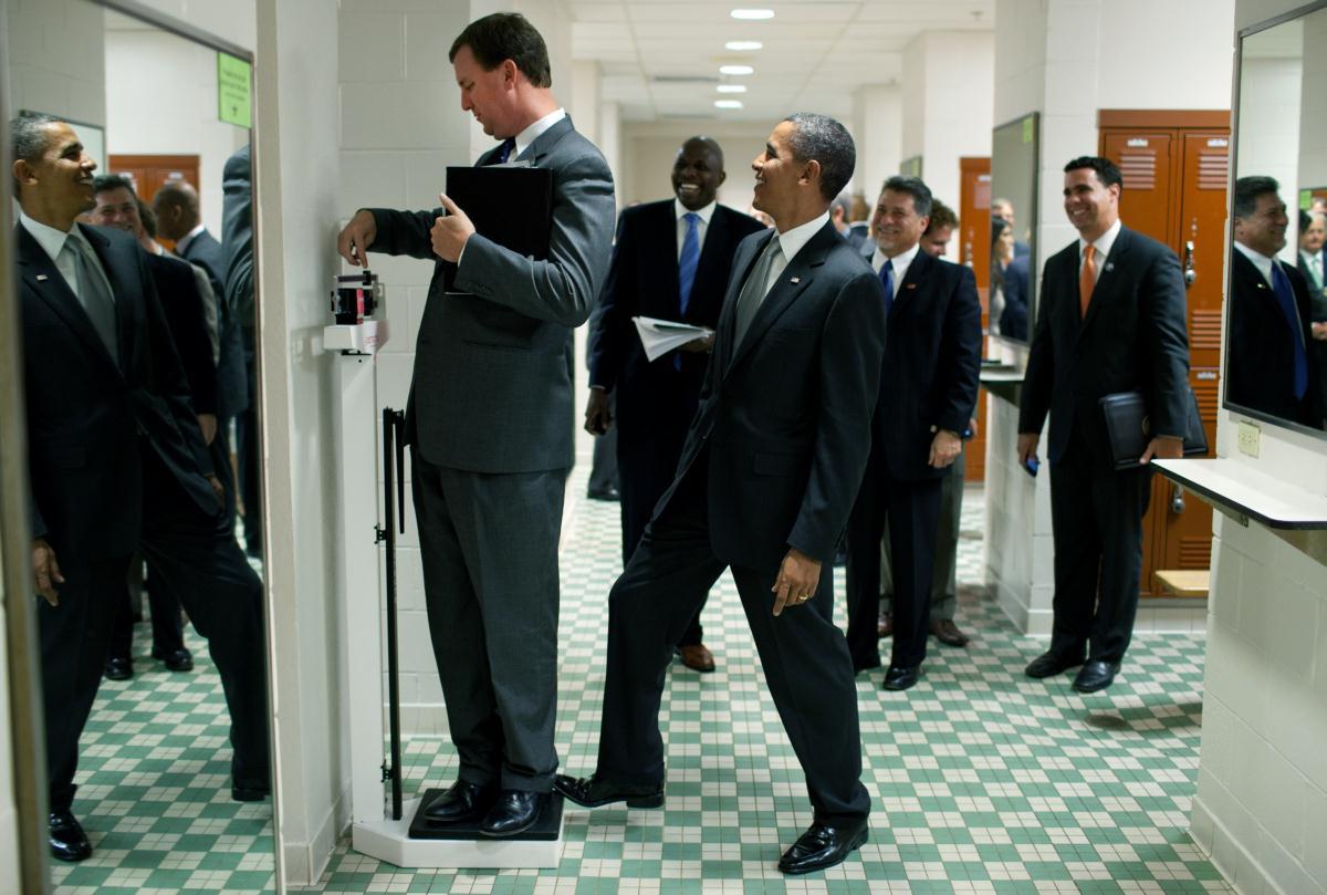 SAIC Vic Erevia with President Obama :)