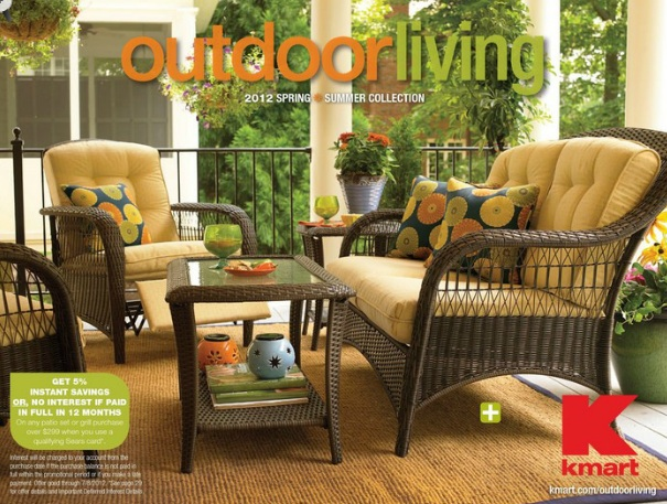 English Garden Inspired Patio Makeover with Kmart FRENCH COUNTRY