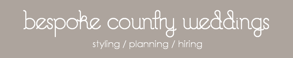 Bespoke Country Weddings