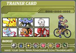 トレーナーカード