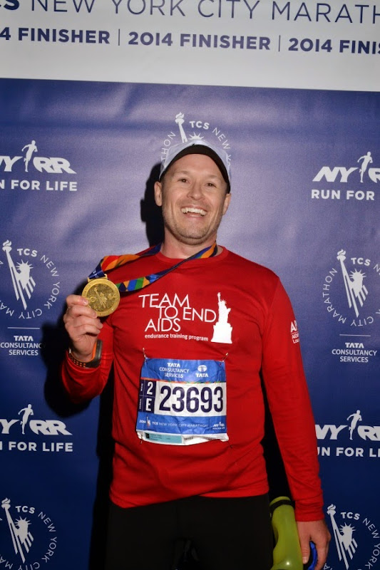 2014 New York Marathon finisher