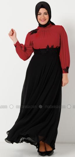 Contoh Busana Muslim Wanita Gemuk Terbaru 2015