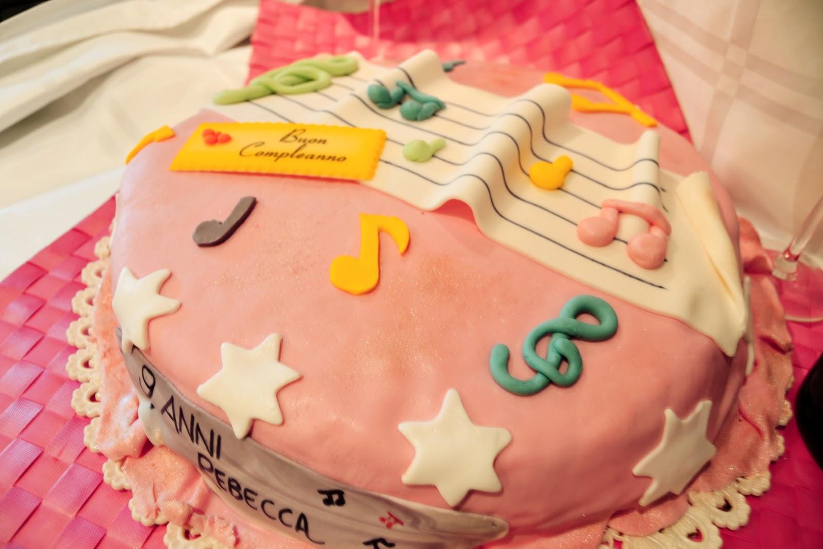 Cake Design Strumenti Musicali : Cake Design: Torta Note Musicali Confidenze culinarie