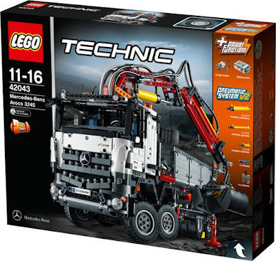 the brick castle lego technic mercedes benz arocs 3245 set 42043 giveaway. Black Bedroom Furniture Sets. Home Design Ideas