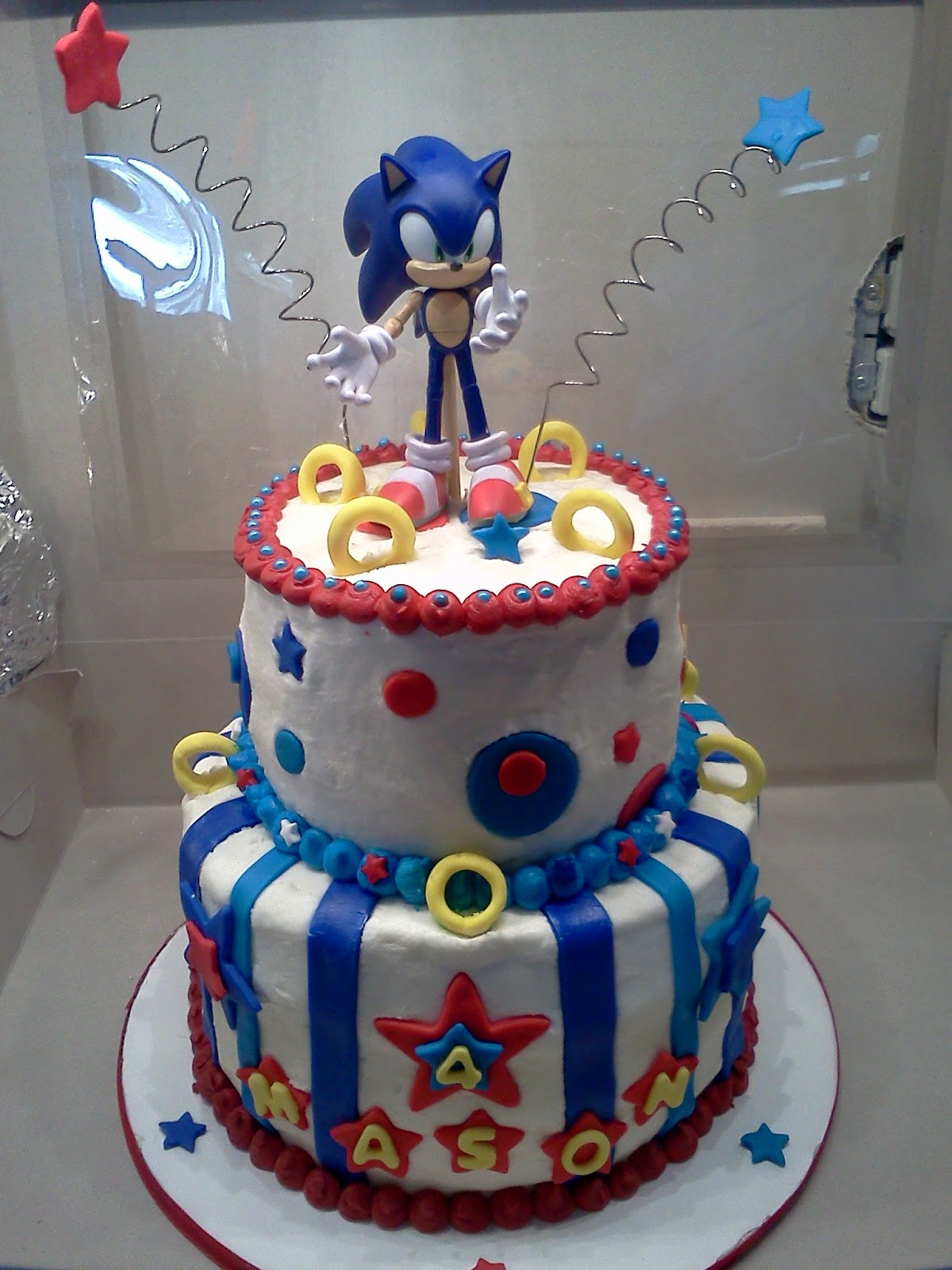Sweet Treats by Angie: Sonic the Hedgehog Cake