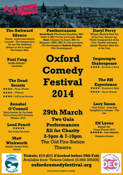 Oxford Comedy Festival - 2014