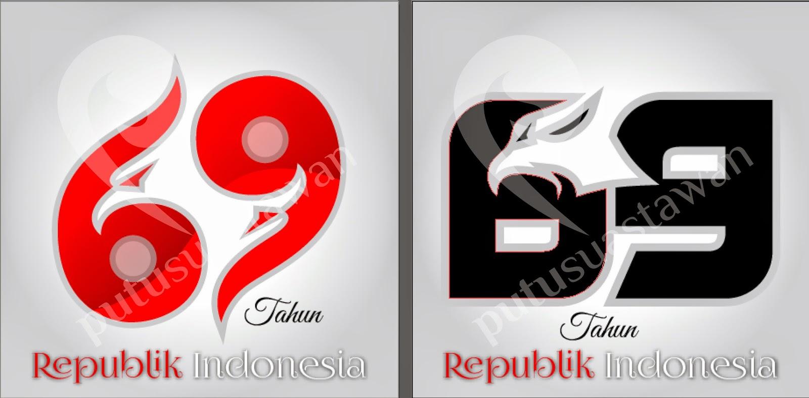 Logo Peringatan Hut Ke 69 Kemerdekaan Republik Indonesia