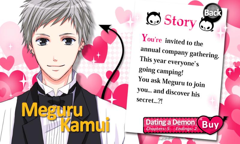 10 Days With My Devil Kakeru Dating A Demon Walkthrough