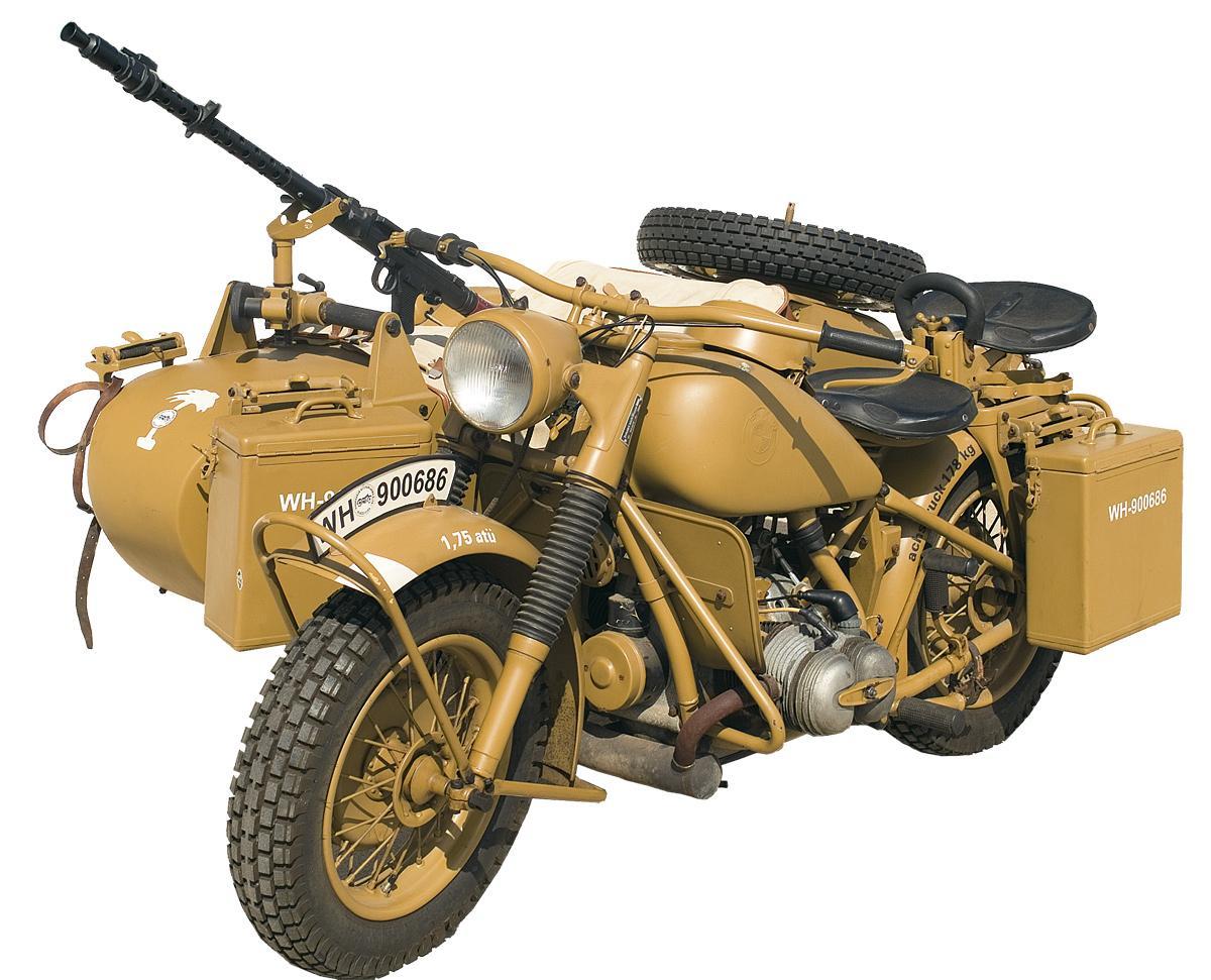"""Coronel Von Rohaut: """"BMW R-75"""" vs """"Harley Davidson WLA"""" No ..."""