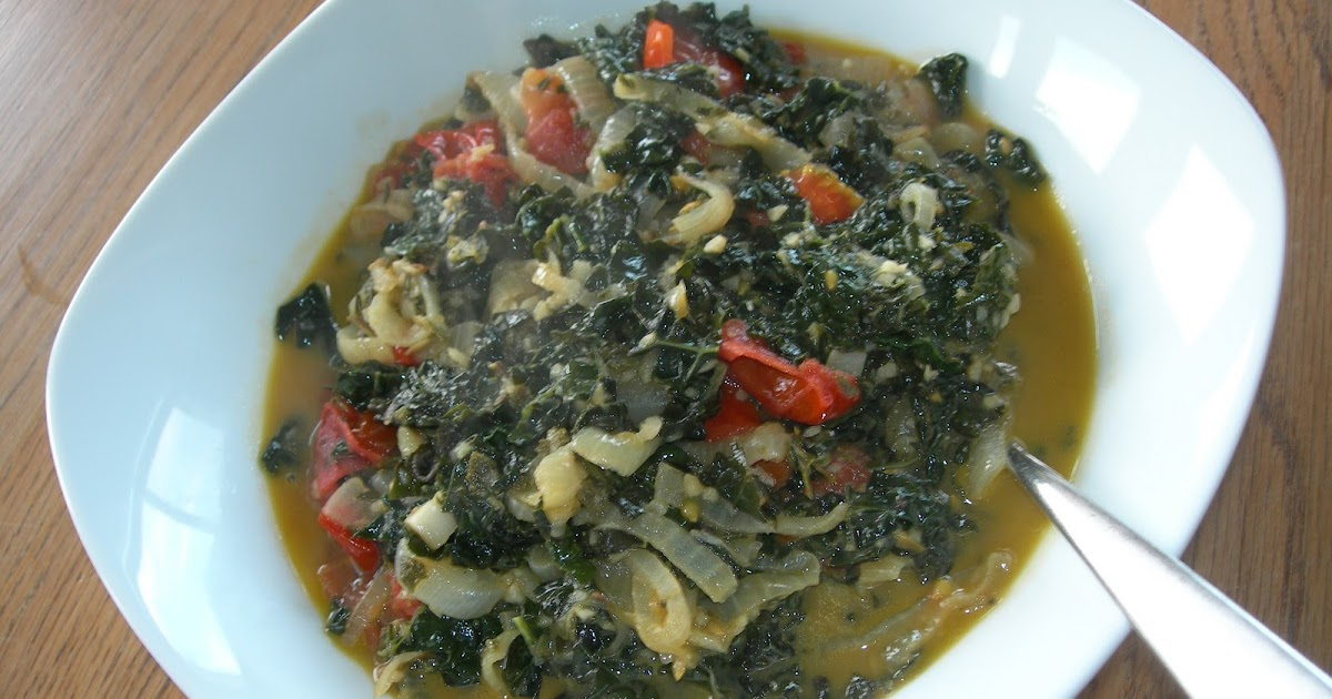 Eating the Scenery: Kale with Garlic, Sage and Thyme Butter