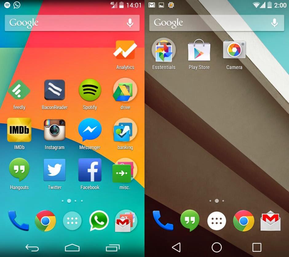 Andoid L, Generasi Android Baru yang Lebih Hemat Baterai