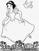 Pamuk Prenses Ve Yedi Cüceleri Boyama Oyunu