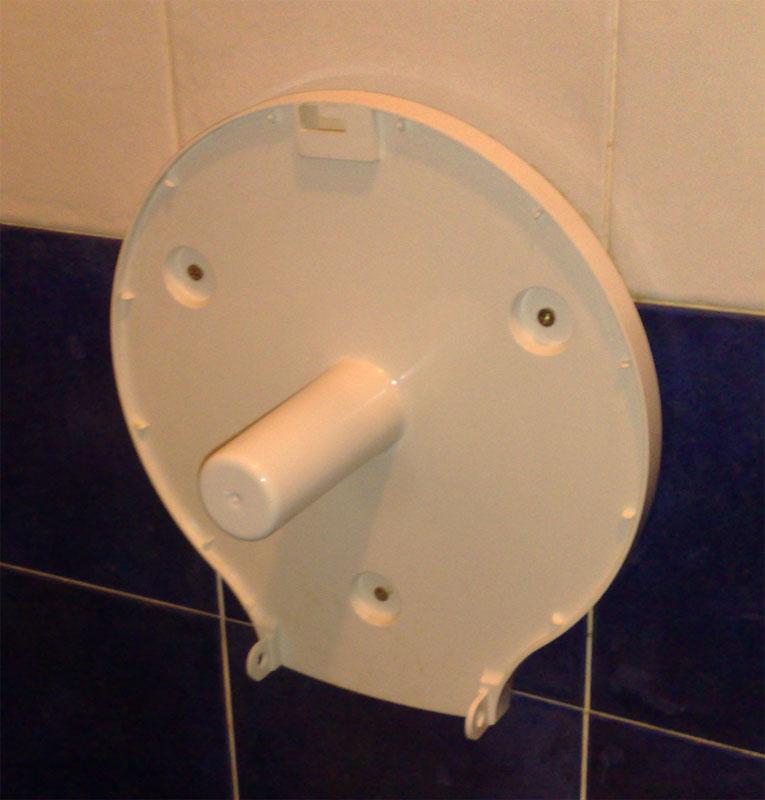 carita en el WC