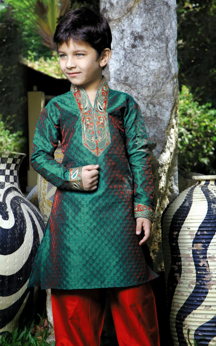 Latest Collection of Clothes for Kids: Kids Latest Boy Sherwani