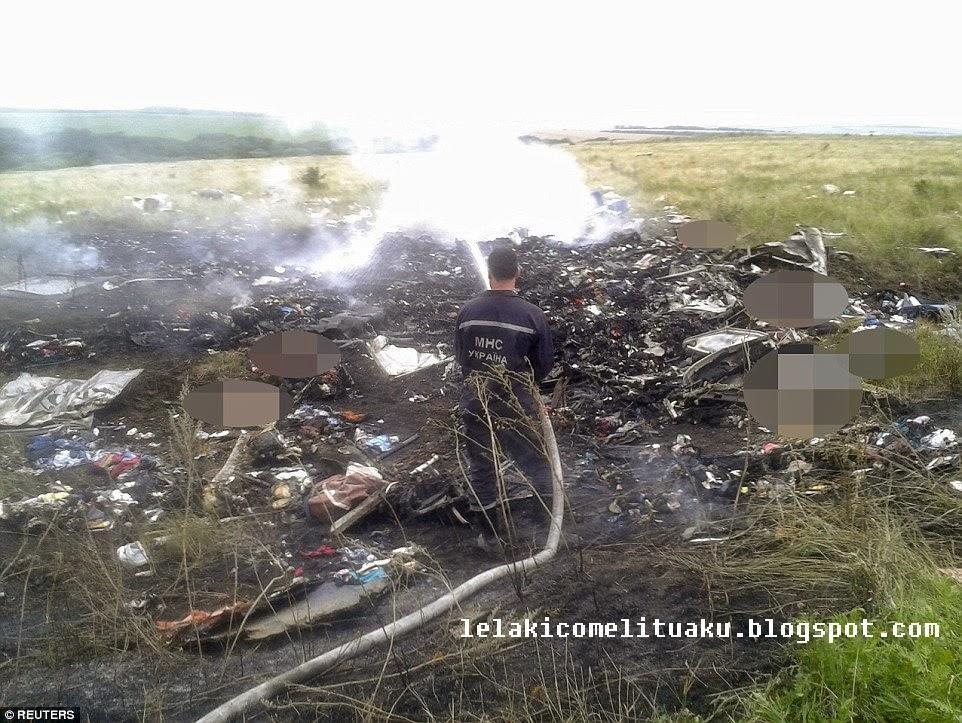 [MH17] Gambar Sekitar Tragedi ke-4 MAS selepas MH370