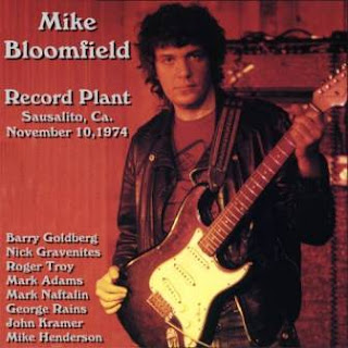 Mike Bloomfield - Record Plant, Sausalito, Ca.  1974