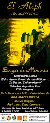 """""""Recital poético  El Aleph"""""""