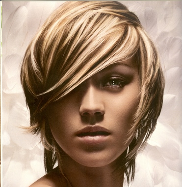 Blonde Hair Brown Highlights. crazy hair color ideas for