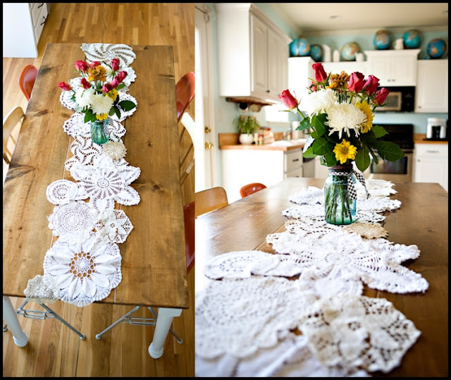 recycled table runner
