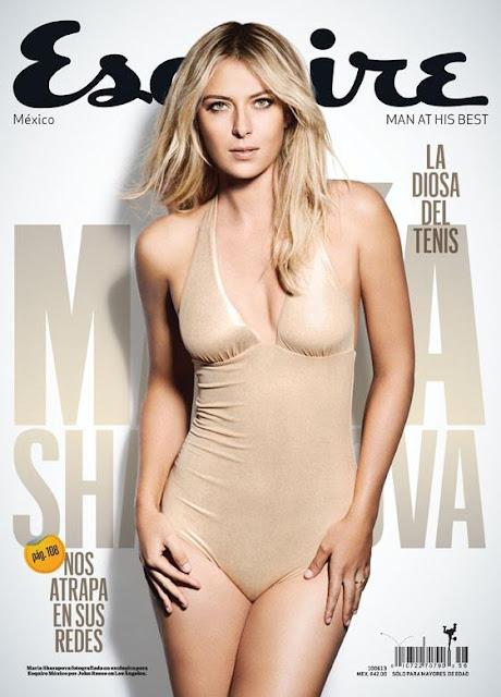 Maria Sharapova Esquire Photoshoot latin