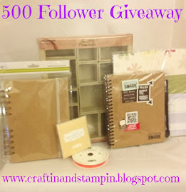 Stampin' and Craftin' 500 Follower Blog Candy