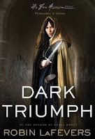 book cover of Dark Triumph by Robin LaFevers