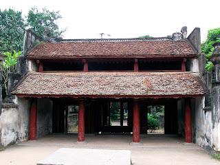 Templo Le del Rey Le Dai Hanh en Hoa Lu