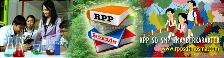 RPP SILABUS BAHAN AJAR SD SMP SMA SMK BERKARAKTER