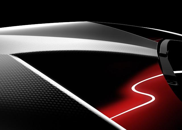 Lamborghini Concept Sixth Element Carbon Fiber Paris Motor Show 2010 Teaser