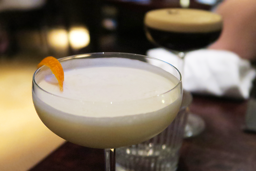 Golden Dream and Mexican Espresso Martini cocktails at the Malmaison Leeds Brasserie