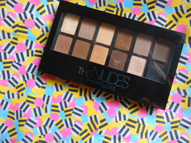 7 days 7 palettes Maybelline the nudes