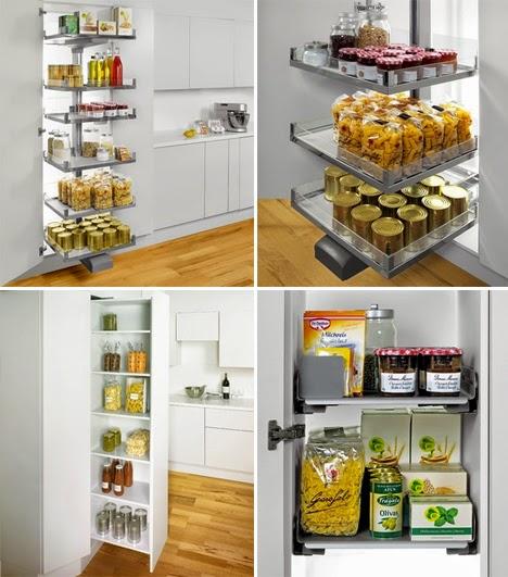gambar desain rak dan lemari dapur model gantung minimalis
