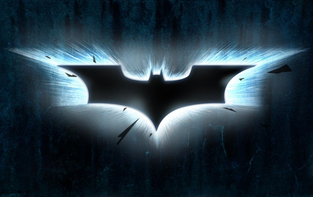 the dark knight bat symbol