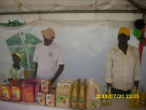 Youth Food Based Businesses During the Agricultural trade Show of july/2011 in JinJa