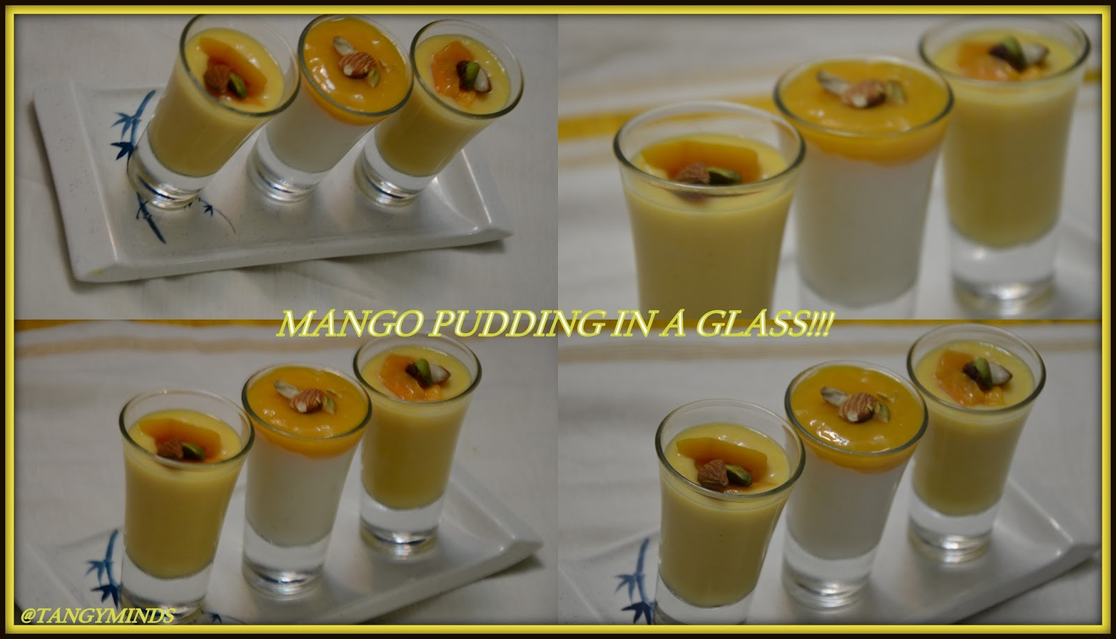Tangy minds mango pudding here is the recipe follows i followed the method by my mom and also watched you tube video on sanjeev kapoor it looks like an exact mango phirni forumfinder Images