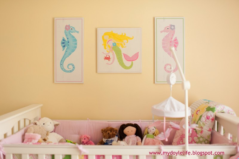 So without further adieu, I present our baby girl's nursery...
