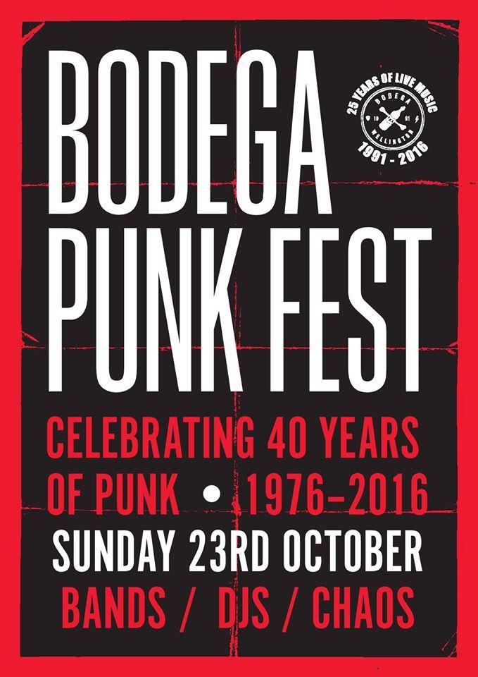 Bodega PunkFest 2016