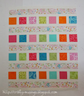 Easy as 10 quilt top