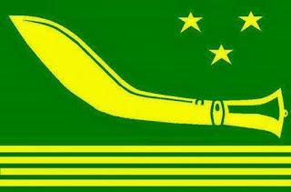 Gorkha National Liberation Front GNLF Flag