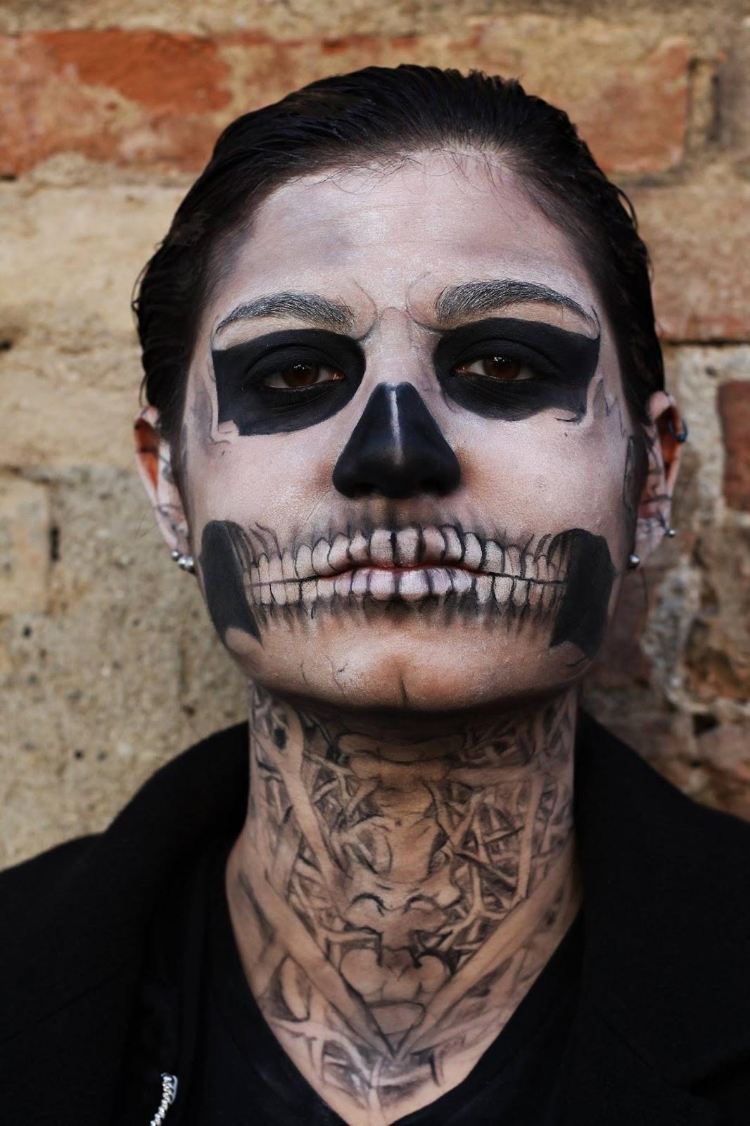 Favoloso Art For Art's Sake: Skull Tate Langdon from American Horror Story  BI34