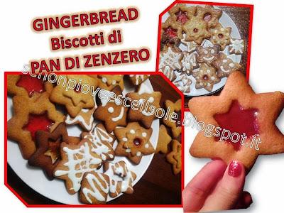gingerbread cookies..biscotti di pan di zenzero!