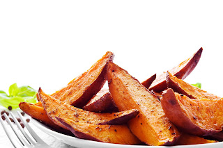 Rosemary Sweet Potato Wedges? Yes, please!