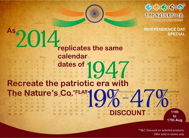 The Patriotic Era recreated by The Nature's Co. image