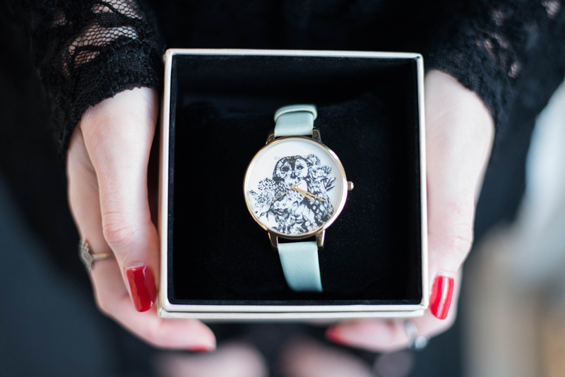 Olivia Burton: Owl Mint and Gold Watch Review