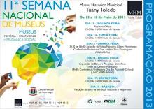 11ª SEMANA NACIONAL DE MUSEUS
