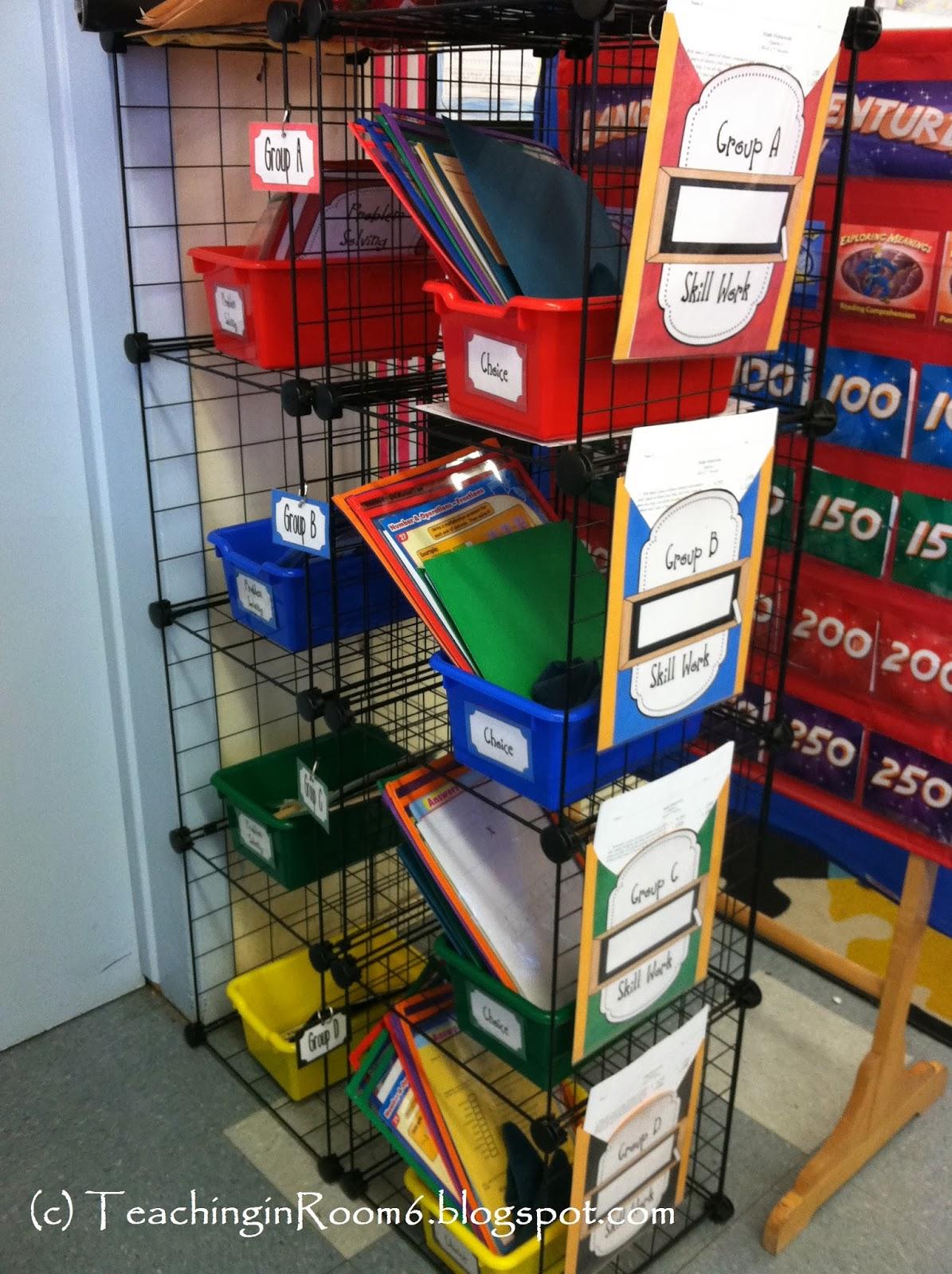 Math Workshop: Organizing It All