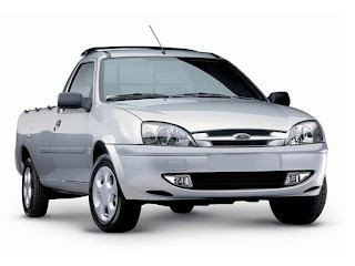 Baixe agora Ford Courier 2012 em vetor gabarito para plotagem